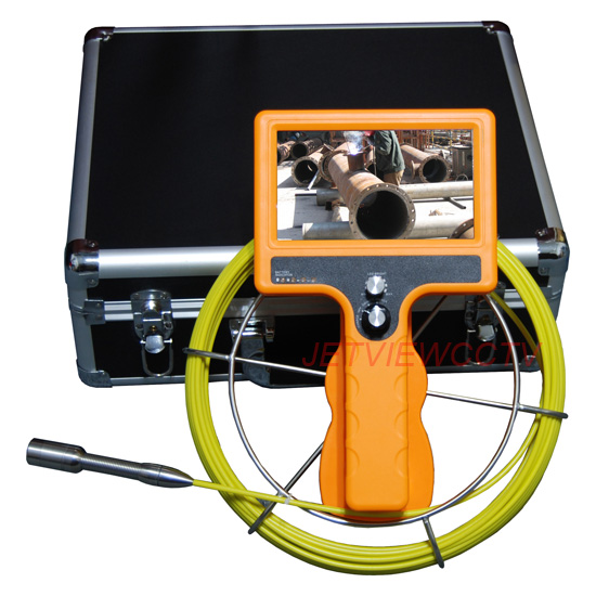 Protable Wall/Drain Pipe/Sewer Inspection Video Camera System w/ 20M Cable